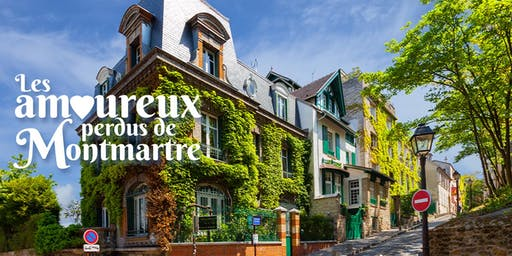 Romantic City Exploration Game in Montmartre, Paris