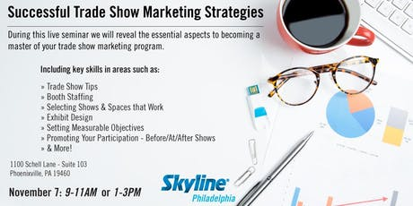 Successful Trade Show Marketing Strategies - AM Session tickets