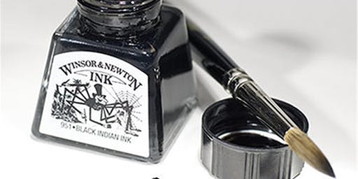Introduction to Painting with Inks | Adult Art Class