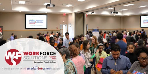 2019 Texas HireAbility Capital Region Job Fair