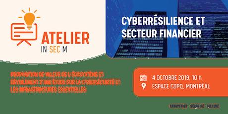 Atelier - Cyberrésilience et secteur financier billets