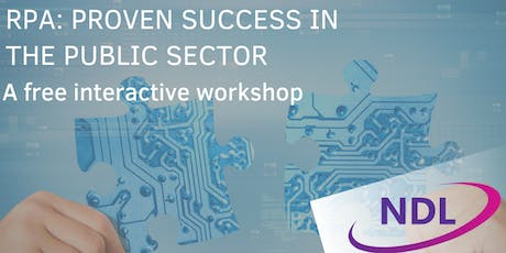 RPA: Proven Success In The Public Sector - Leicester tickets