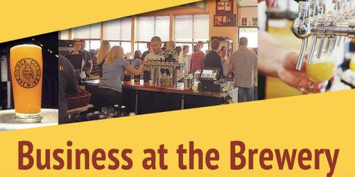 "Stamford  Alive and Lock City Brewing present ""Business at the Brewery"""
