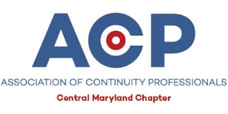 ACP November Meeting tickets