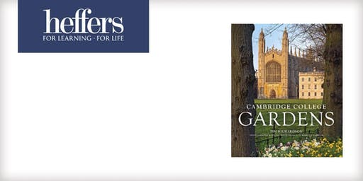 Book Launch: Cambridge College Gardens by Tim Richardson & Clive Boursnell