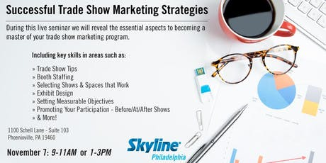 Successful Trade Show Marketing Strategies - PM Session tickets