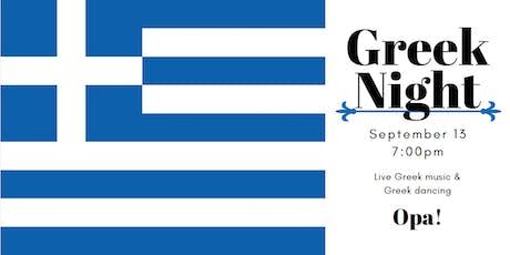 Greek Night tickets