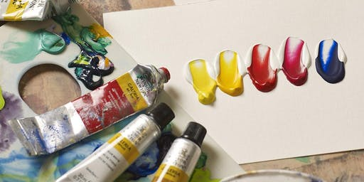Introduction to Painting with Acrylics | Adult Art Class