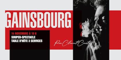 Gainsbourg par Clément Courtois billets