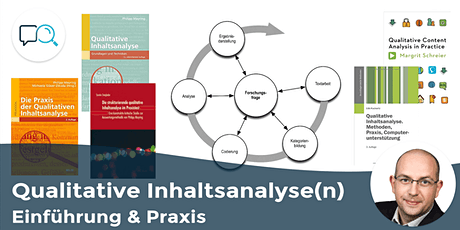 Qualitative Inhaltsanalyse(n): Einführung & Praxis - Live-Online-Tagesschulung für Kleingruppen (MAXQDA-Unterstützung) tickets