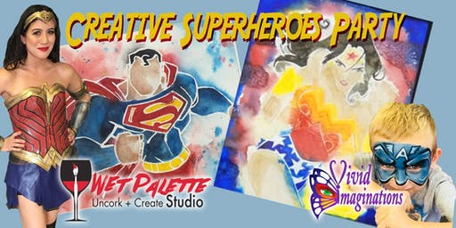 Creative Superheroes Party