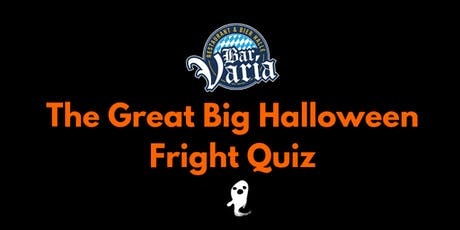 Great Big Halloween Fright Night Quiz tickets