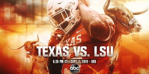 Texas vs LSU All-Inclusive Experience