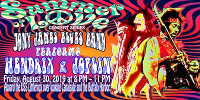 "Liberty Hound Presents ""Jony James Blues Band"" perform Hendrix & Joplin"