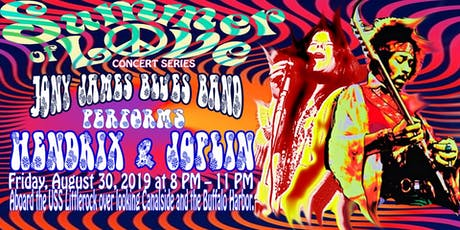 "Liberty Hound Presents ""Jony James Blues Band"" perform Hendrix & Joplin tickets"