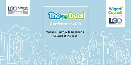 Deal Conference 2019: Wigan's journey to becoming 'Council of the Year' tickets