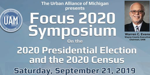 The Urban Alliance of Michigan: FOCUS 2020 Symposium