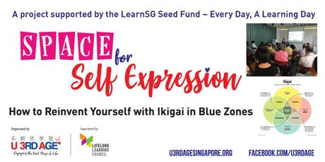 How to Reinvent Yourself with Ikigai in Blue Zones Aug/Sep Wed 2pm tickets