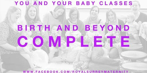 Birth and Beyond Complete Package Guildford- Starting November for due dates Jan/Feb 2019