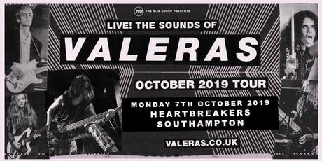 Valeras (Heartbreakers, Southampton) tickets