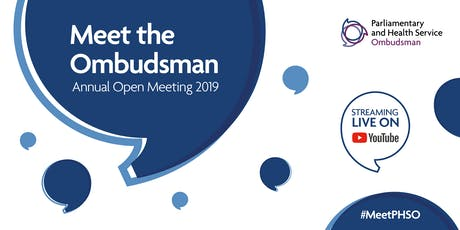 PHSO Annual Open Meeting 2019 tickets