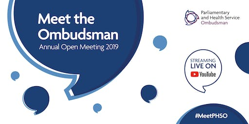 PHSO Annual Open Meeting 2019