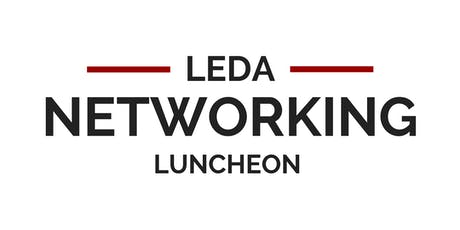 LEDA Networking Luncheon October 2019 tickets