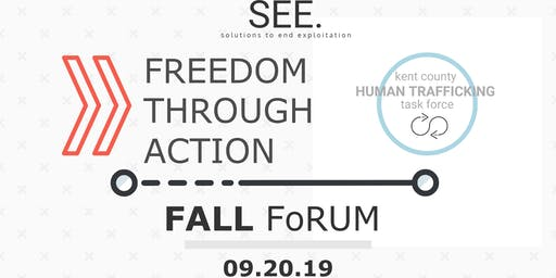 Kent County Human Trafficking Task Force : Fall Strategy Forum