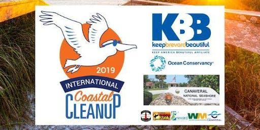 2019 International Coastal Cleanup - Canaveral National Seashore