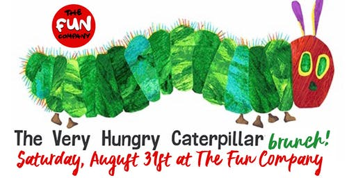 Very Hungry Caterpillar Brunch at The Fun Company!