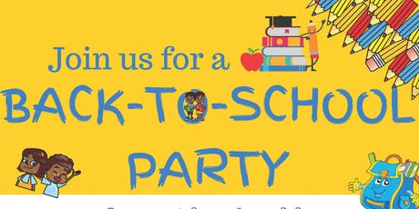 BACK-TO-SCHOOL PARTY tickets