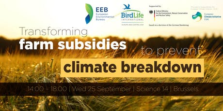 Transforming farm subsidies to prevent climate breakdown tickets