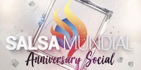 Salsa Mundial Anniversary Social tickets