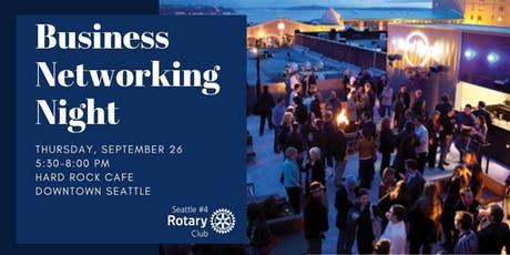 Rotary Business Networking Night tickets