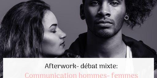 Communication hommes-femmes: afterwork-débat