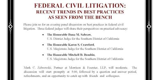 Federal Civil Litigation: Recent Trends in Best Practices