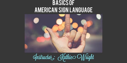 Sign Language Classes - Chestertown