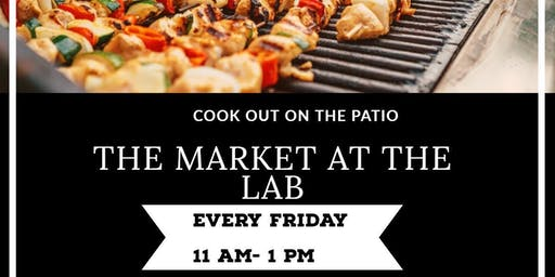 Cook Out on the Patio @ The Lab