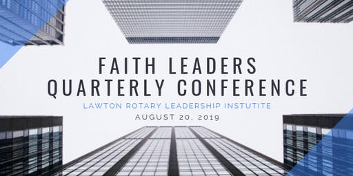 Faith Leaders Quarterly Conference