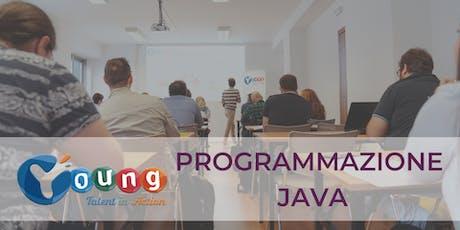 Corso gratuito di Programmazione Java | Young Talent in Action 2019 | Trieste biglietti