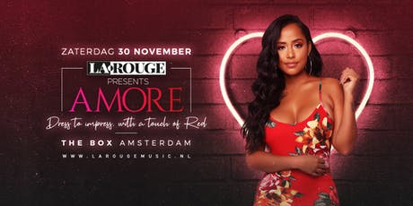 La Rouge Presents: Amore  tickets