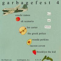 GARBAGEFEST 4: A Benefit for Food Not Bombs