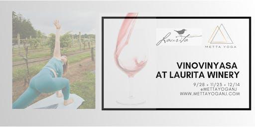 YOGA VinoVinyasa - Yoga & Wine at Laurita Winery