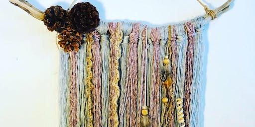 Wallhanging Workshop  - Driftwood or Boho