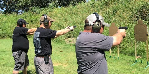 Basic/Enhanced Concealed Carry - October 12, 2019 - Centerton, AR