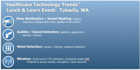 """""""Healthcare Technology Trends""""   Lunch & Learn Event: Tukwila, WA"""