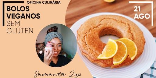 Bolos Veganos sem Glúten - Oficina culinária em São Paulo
