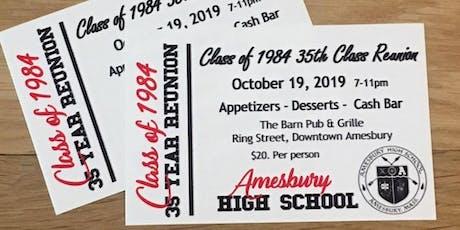 AHS Class of '84 Reunion! tickets