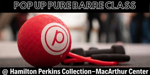 Pure Barre at Hamilton Perkins Collection