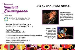 7th Annual Musical Extravaganza to Benefit the Charlotte Maxwell Clinic